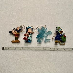 Avon Mickey's Christmas Carol Ornaments